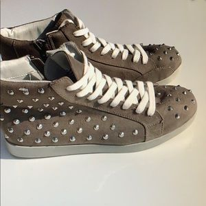 Studded high tops great condition size 9